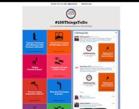 Visual design for Expo2015 - 100ThingsToDo