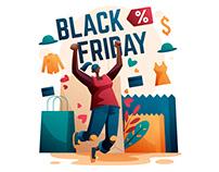 Black Friday Illustration
