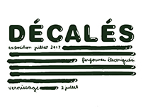 visuel exposition / DÉCALÉS