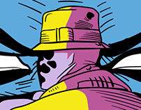 WATCHMEN: Graphic Novel Cover Illustration