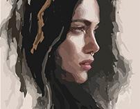 illustration portrait