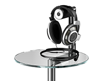 On Top Headphone table