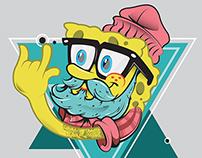 Hipster Sponge