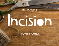 Incision Font Family
