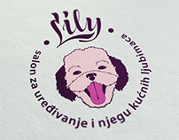 Dog grooming salon LILY - complete design