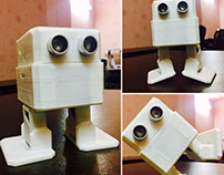 3D Printed Dancing Robot called Totto