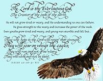 2019 Eagle Project with Isaiah 40