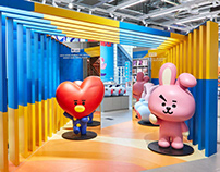 LINE FRIENDS Flagship Store in Harajuku, Japan