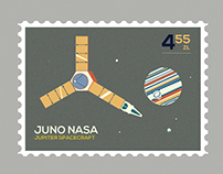 Space stamps collection