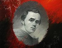 portrait of Taras Shevchenko