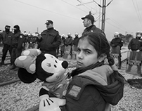 Idomeni: Refugee camp