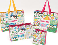 Shopping Bag ショッピングバッグデザイン・ディレクション(TITICACA)