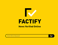 FACTIFY - Research, Branding, Campaigns & UI
