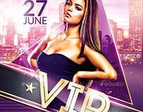Classy Vip Party | Psd Flyer Template
