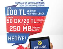 Altunbilekler Turkcell Ramazan Kampanya İlanları