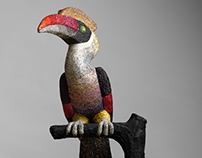 Bird sculptures photos