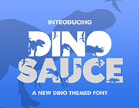 FREE Dinosauce Font