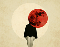 Waiting for the red moon