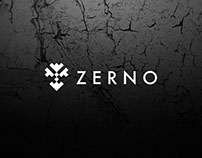 ZERNO Rock band logo