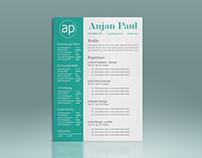 Resume / Cover Letter /CV / Portfolio Design