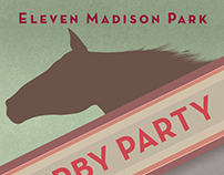 Eleven Madison Park | Kentucky Derby Poster