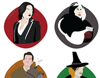 Once Upon A Time Character Illustrations