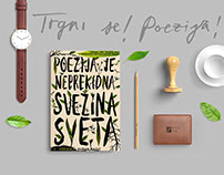 Visual Identity | 9th Belgrade Poetry and Book Festival