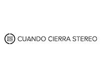 Logotipo Cuando Cierra Stereo