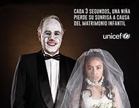 """""""Matrimonio infantil"""" - Unicef fotografía publicitaria."""