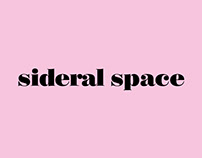 Logotype Sideral Space