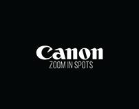 Canon - Zoom in radio spots