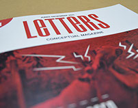 Letters Conceptual Magazine- Augmented reality- Layar