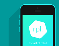 ripple - the art of retail • Brand Identity