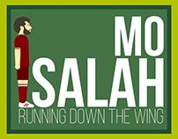 Mo Salah, Run Cycle, Motion Graphics.