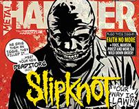 Slipknot/Metal Hammer Magazine Cover