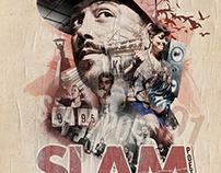 Slam Poetry Budapest Klub 2016 Event flyer & Poster