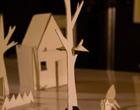 Animation _Fox & Crow _Paper work_toybook