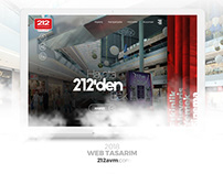 212 AVM | Web Site Redesign