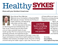 Wellness & Well-being Newsletter for Global Client