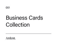 Business Card Collection 001