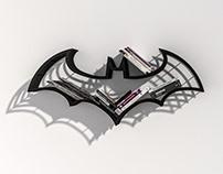 Iron Batman , Handmade Customized Logo