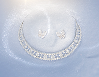 van cleef and arpels : Diamond Breeze (Particles work)