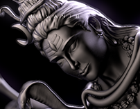 Lord Shiv, Statue Model for iCreations