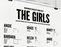 Benchmark CrossFit Work Out Poster #The Girls