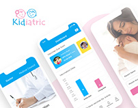 Kidiatric Mobile App UI Design