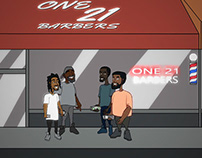 One 21 Barbers Animated Video
