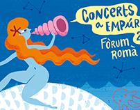 EMPÚRIES: Concerts al fòrum romà 2015