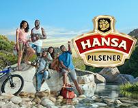 Hansa Pilsener Discover Refreshment Key Visual