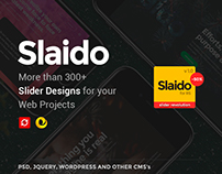 Slaido - Amazing Sliders for your Web Projects
