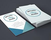 Ballard board branding